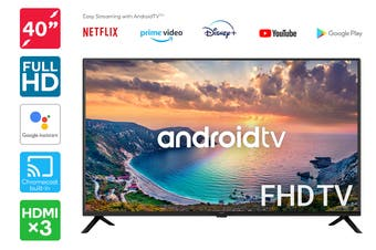 "Kogan 40"" Smart Full HD LED TV Android TV™ (Series 9, RF9210)"