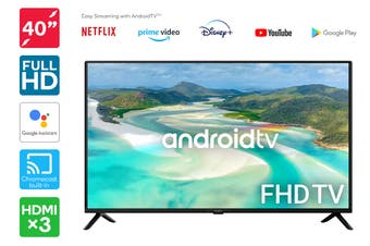 "Kogan 40"" Smart Full HD LED TV Android TV™ (Series 9, RF9220)"