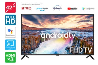 "Kogan 42"" Full HD LED Smart TV Android TV™ (Series 9, RF9220)"