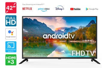 "Kogan 42"" Full HD LED Smart TV Android TV™ (Series 9, RF9230)"