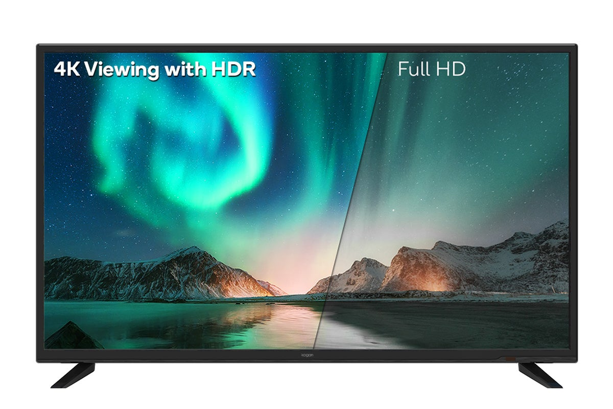 4K resolution and HDR