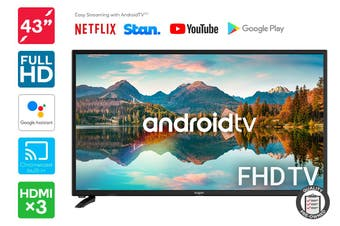 "Kogan 43"" Smart Full HD LED TV Android TV™ (Series 9, RF9000) Preowned"