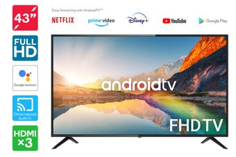 "Kogan 43"" Smart Full HD LED TV Android TV™ (Series 9, RF9100)"