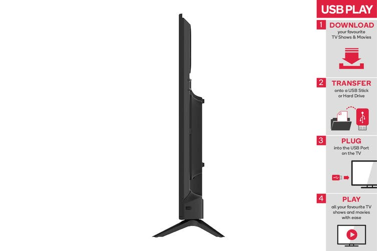 """Kogan 50"""" 4K UHD HDR LED TV (Series 8, JU8300)"""