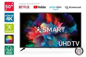 "Kogan 50"" Smart HDR 4K UHD LED TV (Series 8 RU8020) Preowned"
