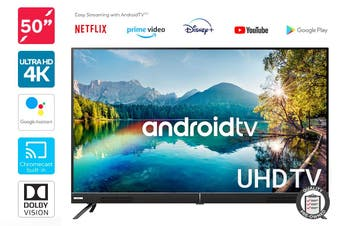 "Kogan 50"" Smart HDR 4K UHD LED TV Android TV™ (Signature Series, XT9310) Preowned"