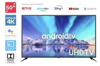 "Kogan 50"" Smart HDR 4K LED TV Android TV™ (Series 9, XU9210)"