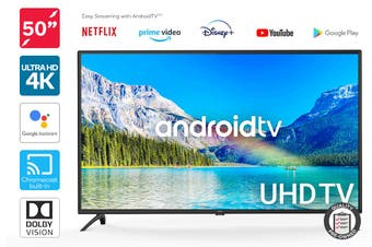 "Kogan 50"" Smart HDR 4K UHD LED TV Android TV™ (Series 9, XU9220) Preowned"
