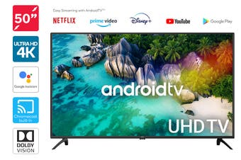 "Kogan 50"" 4K UHD HDR LED Smart TV Android TV™ (Series 9, XU9220)"