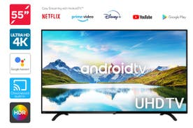"Kogan 55"" 4K UHD HDR LED Smart TV Android TV™ (Series 9, TU9210)"