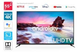 "Kogan 55"" Smart HDR 4K UHD LED TV Android TV™ (Series 9, XU9210)"