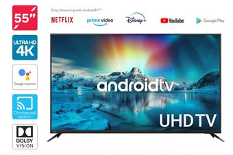 "Kogan 55"" 4K UHD HDR LED Smart TV Android TV™ (Series 9, XU9210)"