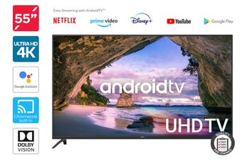 "Kogan 55"" Smart HDR 4K UHD LED TV Android TV™ (Series 9, XU9220) Preowned"