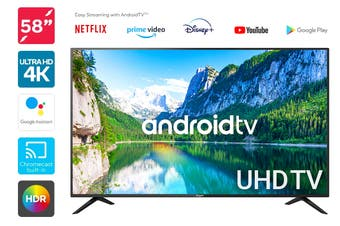 "Kogan 58"" Smart HDR 4K UHD LED TV Android TV™ (Series 9, RU9210)"