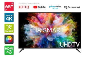 "Kogan 65"" Smart HDR 4K UHD LED TV (Series 8, NU8030)"