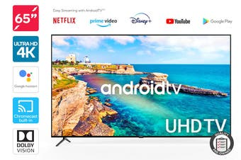 "Kogan 65"" Smart HDR 4K UHD LED TV Android TV™ (Series 9, XU9210) Preowned"