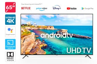 "Kogan 65"" 4K UHD HDR LED Smart TV Android TV™ (Series 9, XU9210)"