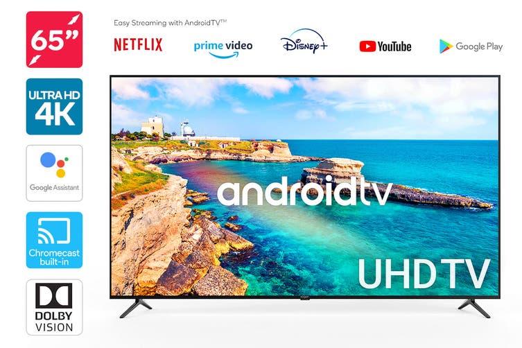 "Kogan 65"" 4K UHD HDR LED Smart TV Android TV™ (Series 9, XU9210)"