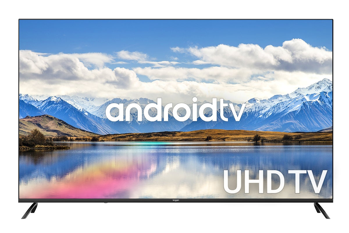Powered by Android TV(tm) with voice search