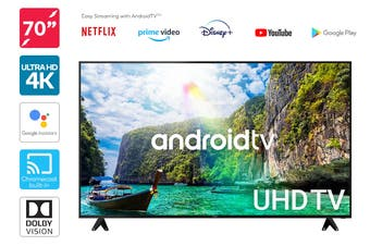 "Kogan 70"" 4K UHD HDR LED Smart TV Android TV™ (Series 9, XU9210)"