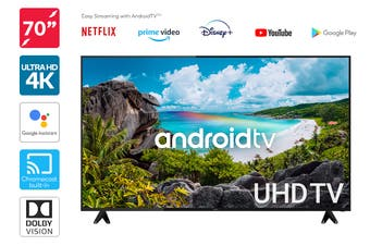 "Kogan 70"" 4K UHD HDR LED Smart TV Android TV™ (Series 9)"