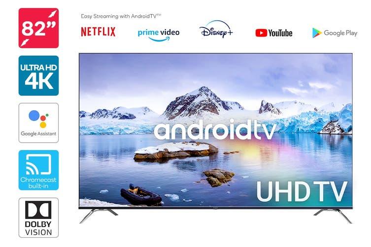 "Kogan 82"" Smart HDR 4K UHD LED TV Android TV™ (Series 9, XR9210)"