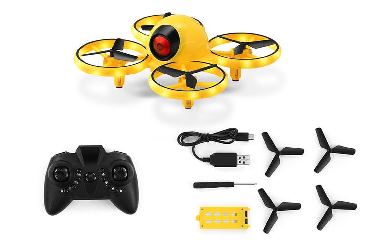 Kogan LED Colour Changing Drone (Yellow)