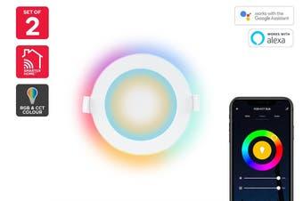Kogan SmarterHome™ Smart LED Downlight (RGB + Cool & Warm White)