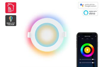 Kogan SmarterHome™ Smart LED Downlight (RGB + Cool & Warm White)