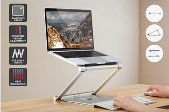 Kogan Aluminum Inifinite Height Adjustable Laptop Stand