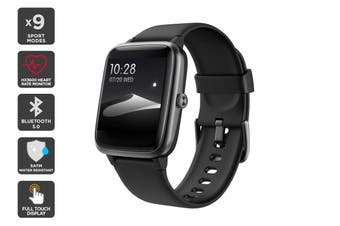 Kogan Active+ Lite Smart Watch (Classic Black)