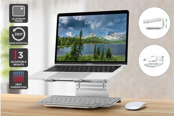 Kogan Aluminum Rotation Laptop Stand