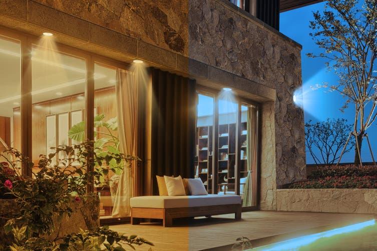 Kogan SmarterHome™ 13W RGB + CCT Colour & Warm/Cool White Outdoor Smart Bulb (E27) - 4 Pack
