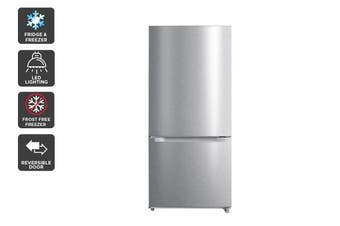 Kogan 529L Bottom Mount Fridge - Stainless Steel