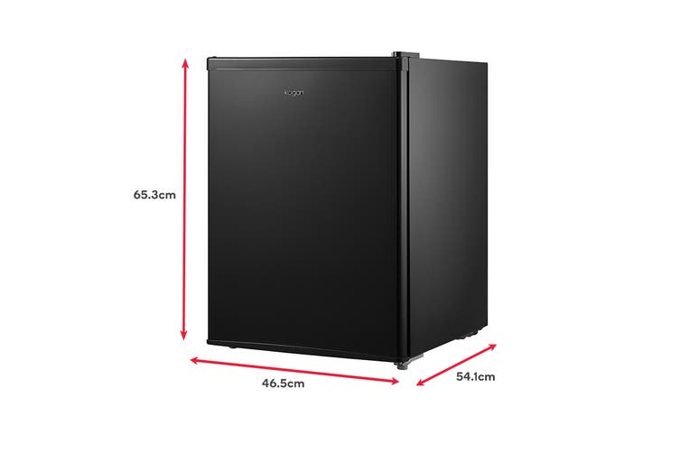 Kogan 69L Bar Fridge - Black
