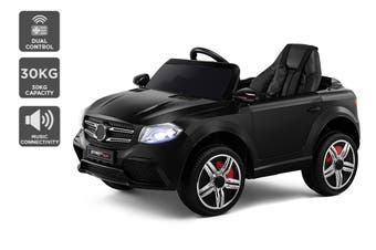 Kids Mercedes-Benz-Inspired Ride-On Car (Black)