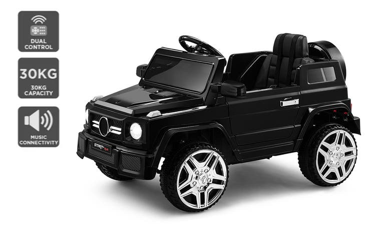 Kids Mercedes-Benz-Inspired Ride-On Jeep (Black)