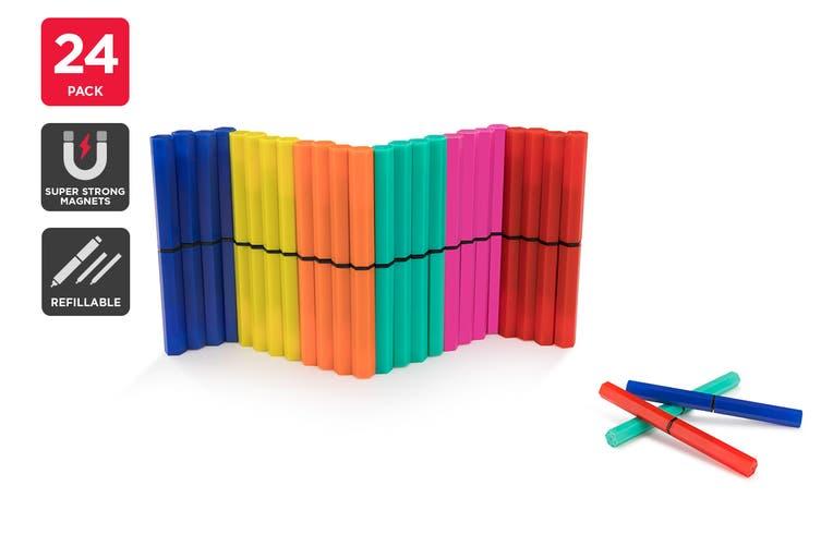 Magnetic Gel Pen Set (24 Pack)