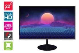 "Kogan 22"" Full HD FreeSync 75Hz Frameless Monitor (1920 x 1080)"