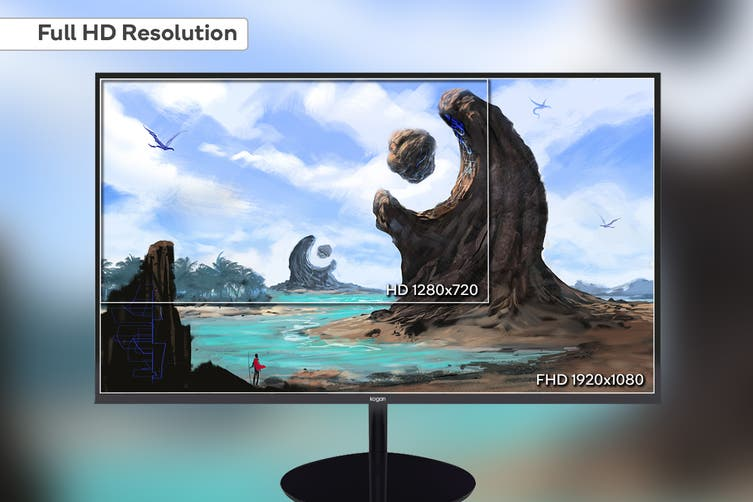 "Kogan 22"" Full HD FreeSync 75Hz Frameless Monitor (1920 x 1080)"