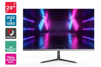 "Kogan 24"" Full HD FreeSync 75Hz Frameless Monitor (1920 x 1080)"