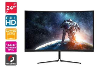 "Kogan 24"" Full HD Curved 144Hz Freesync Gaming Monitor (1920 x 1080)"