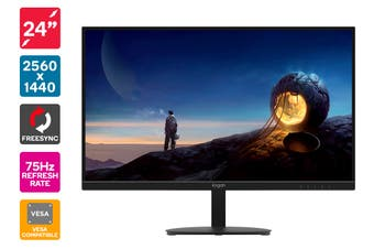 "Kogan 24"" QHD IPS FreeSync 75Hz Monitor (2560 x 1440)"