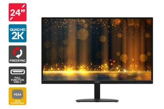 "Kogan 24"" QHD IPS USB-C FreeSync 75Hz Monitor (2560 x 1440)"