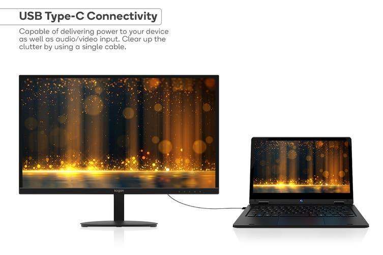 """Kogan 24"""" QHD IPS USB-C FreeSync 75Hz Monitor (2560 x 1440)"""