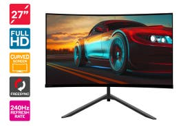"Kogan 27"" Curved Full HD 240Hz FreeSync Gaming Monitor (1920 × 1080)"