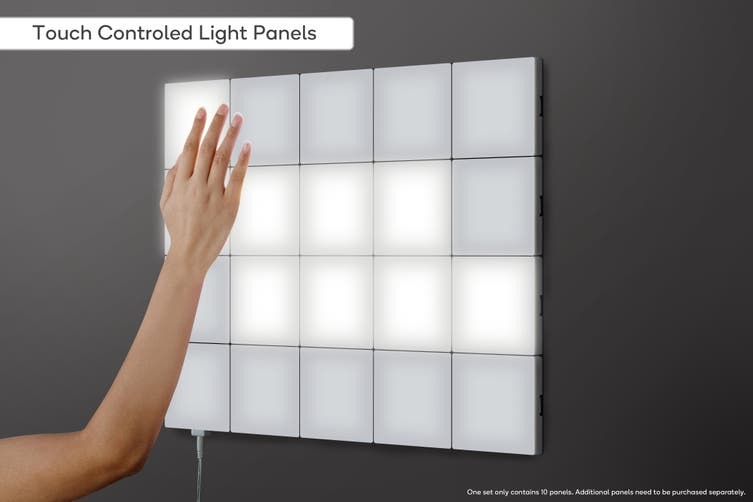 Kogan Modular Ambient Light Panels (Set of 10)