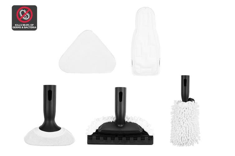 5 Piece Microfiber Pads for Kogan 13-in-1 Steam Mop