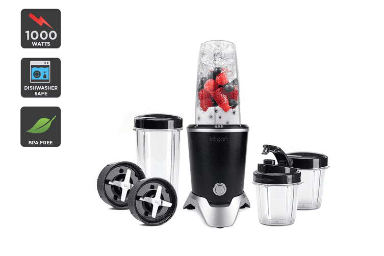 Kogan 1000W 10-Piece Rocket Blender Pro Set