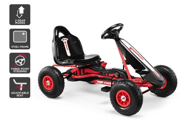 Kids Pedal Go Kart (Black)